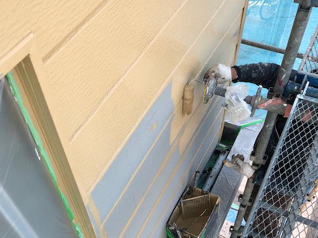 千葉市中央区蘇我町にて外壁工事2