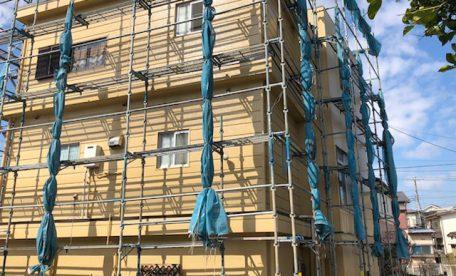 千葉市中央区蘇我町にて外壁工事3