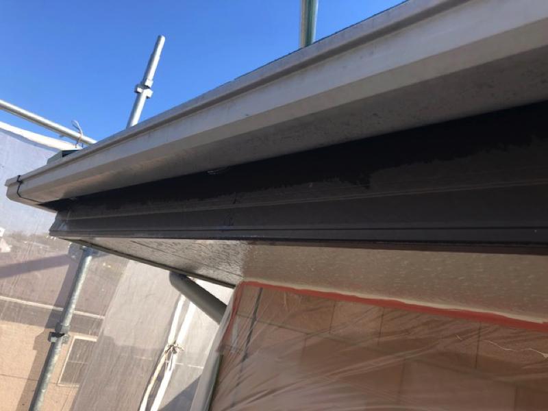 【千葉市若葉区東寺山】K様邸の外壁塗装工事と屋根塗装工事では養生もしっかり!