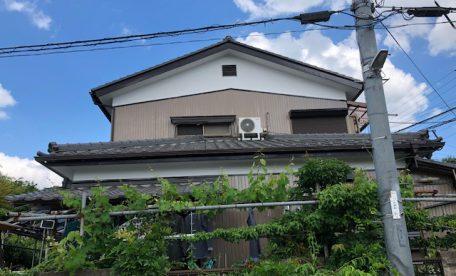 千葉中央区生実町での塗装工事完了です。